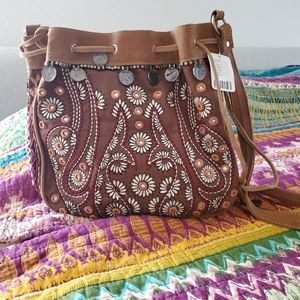 Free People Bags - Free People Boho hobo bag